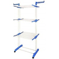 BonBon 3 Tier Clothes Drying Rack Folding Laundry Dryer Hanger OPEN BOX