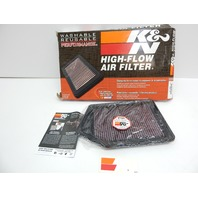 K&N 33-2498 High Performance Washable Engine Air Filter for 13-19 Honda/Acura L4