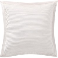 "Charisma CF2384IVDP Luxe Cotton Linen 18"" Square Decorative Pillow, Ivory, 2 ct"