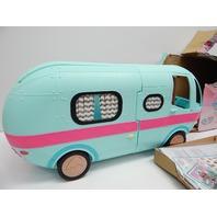 L.O.L. Surprise! 2-in-1 Glamper Fashion Camper with 55+ Surprises BOX DAMAGE