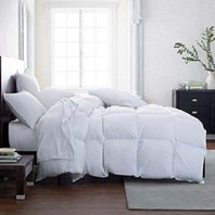 Lavish Comforts Hotel Luxury Down Alt Comforter Duvet Insert, Queen DISTRESS PKG