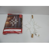 "Impact 95014 22"" Lighted Star of Bethlehem Christmas Window Decoration BOX DMG"