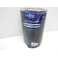 Space Foam Memory Foam Cooling Pillow, King, Firm DISTRESSED PACKAGE