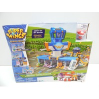 Super Wings US73083 Mission Teams Airport Adventures Activity Set BOX DAMAGE