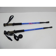 Bafx Products Adjustable Anti Shock Aluminum Hiking Trekking Poles