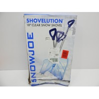 "Snow Joe SJ-SHLV02 Shovelution 18"" Snow Shovel w/Spring Assisted Handle BOX DMG"