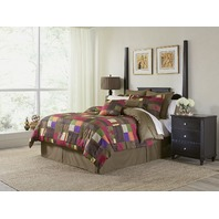 Pointehaven Marrakesh 12pc Luxury Bedding Comforter Set, Cali King