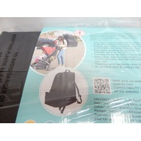 J.L. Childress 2100 Ultimate Backpack Padded Car Seat Travel Bag, Black