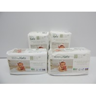 Eco by Naty, Size 2 (6-11lbs), 132 Ct Baby Diapers