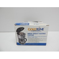 GoldTone Brand Reusable No.4 Cone Style Cuisinart Coffee Filter, 2 Pack BOX DMG