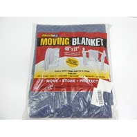 """Shoulder Dolly M1002 Dual Sided, Thick, Durable 45x72"""" Moving Blanket"""