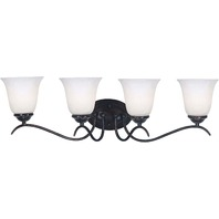 Kenroy Home 90214ORB Medusa 4 Light Vanity, Oil Rubbed Bronze MISSING 1 GLOBE