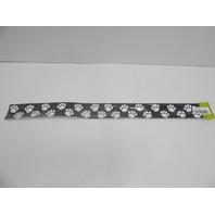 Teacher Created Resources 4642 Paw Prints Straight Border Trim, Black/White