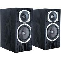 Energy RC-10 2-Way Bookshelf Speaker, Black Ash Veneer (Pair)