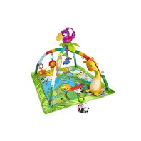Fisher-Price FPM23-9564 Rainforest Music & Lights Deluxe Gym BOX DAMAGE