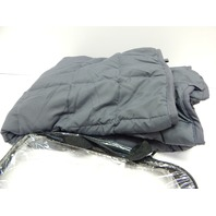 """Sonaice Adult Weighted Blanket 20 lbs, 60x80"""" Queen, Gray DISTRESSED PACKAGE"""