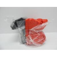 Huiermei 24 Acoustic Fireproof Sound Absorbing Foam Panels 12x12x1 Red/Black