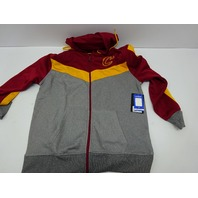Ultra Game NBA Cleveland Cavaliers Mens Fleece Full Zip Jacket Hoodie, L SM MARK