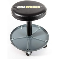 MaxWorks 80771 Pneumatic Roller Seat/Creeper with Adjustable Height OPEN BOX
