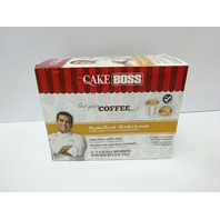 Cake Boss Coffee K-Cups, Hazelnut Biscotti, 24 Count