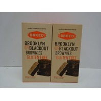 BAKED Brooklyn Blackout Brownie Gluten Free Mix  Pack of 2