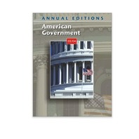 Annual Editions: American Government 03/04 Paper Back