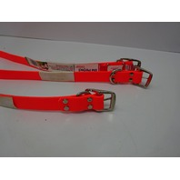 """The Perfect Pet Products Cut to Length Dog Collar, 1"""" Wide x 12"""", Orange 3ct"""