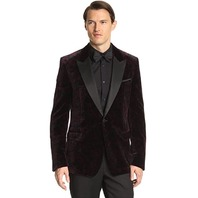 Versace Collection Men's Dinner Jacket, Pink, 52R EU/42R US