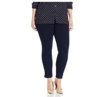 Lysse Women's Plus Size Denim Skinny Leggings, Indigo, 3XL
