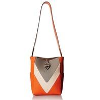 Time's Arrow Womens Ella Shopper Purse, Cement/Blush/Graphite, Sunset