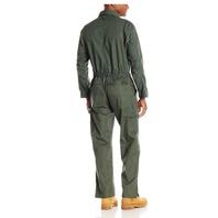 Key Apparel Men's Long Sleeve Loden Green Unlined Coveralls, Medium