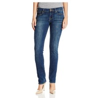 Lucky Brand Women's Mid Rise Sweet Straight Jeans, Tanzanite, 32W X 30L