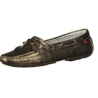 Marc Joseph New York Women's Leather Cypress Driving Style Loafer, Bronze, 10.5