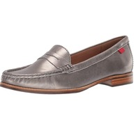 Marc Joseph New York Women's Leather East Village Loafer, Gipsy Silver, 6