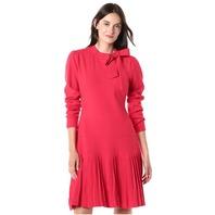 Shoshanna Women's Pierce Mini Dress, Scarlet, S