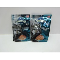 Blue Buffalo Wilderness Trail Treats High Protein Chicken Jerky Dog Treats, 2ct