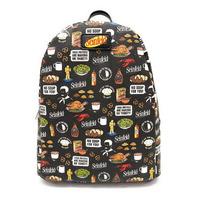 Funko POP! All Over Print Seinfeld Quote Mini Backpack, Black Pop