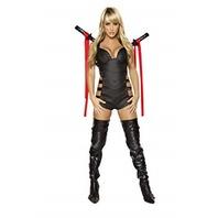 Roma Costume RM4341 2pc Sexy Assassin Ninja, Medium MISSING 1 SWORD SHEATH