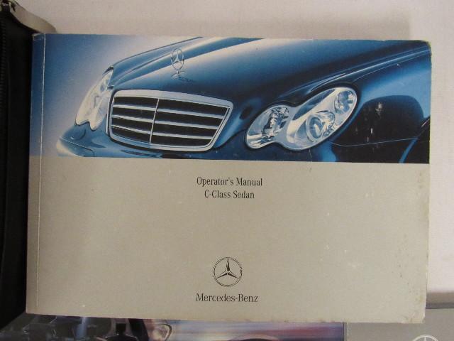 2005 mercedes benz c230 kompressor owners manual