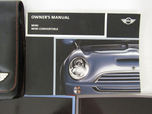 2006 cooper mini and convertible owners manual