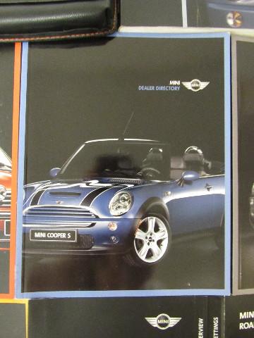 2006 mini cooper convertible owners manual guide book ebay rh ebay com mini cooper 2006 service manual mini cooper 2006 service manual