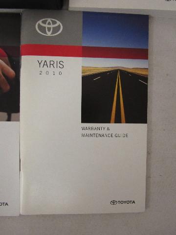 Toyota yaris owners manuals   ebay.