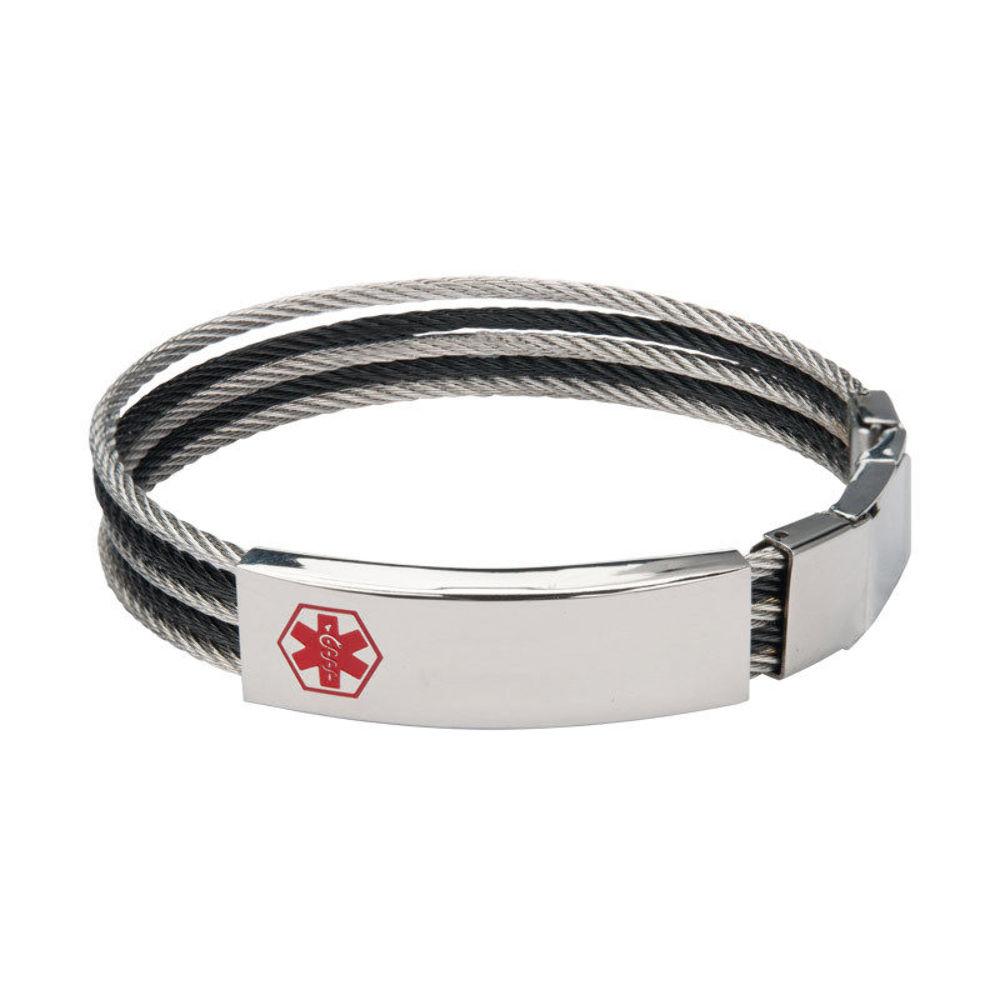 mens medic alert bracelet best bracelets. Black Bedroom Furniture Sets. Home Design Ideas