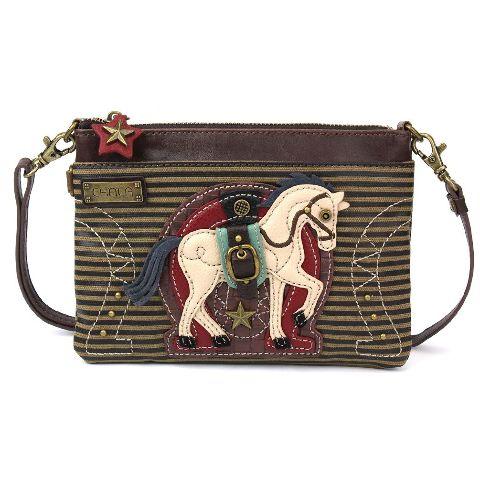 Charming Chala Equestrian Horse Lover Crossbody Bag Handbag Purse