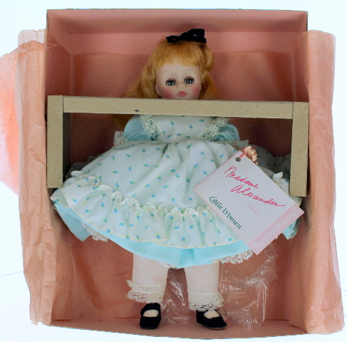 "14"" Madame Alexander Little Women Amy Doll in Original Outfit and Box"