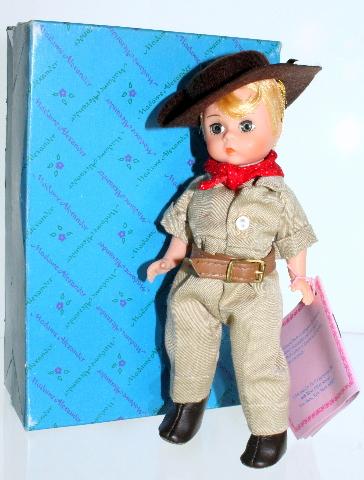"""Madame Alexander Aussie Australian Boy #504 Hat Outfit 8"""" box Australia"""
