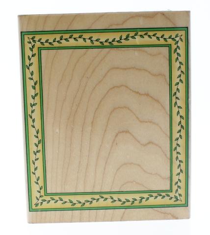 Hero Arts Large Vining Vine Frame Wooden Rubber Stamp