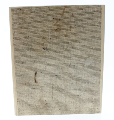 Stampin Up EX Large Fabric Linen Background Wooden Rubber Stamp