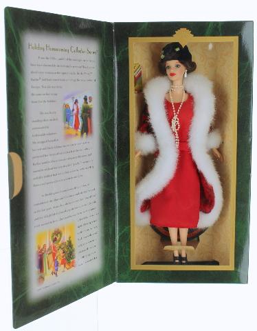 Barbie Doll Holiday Voyage Mint In Box 1997 Hallmark