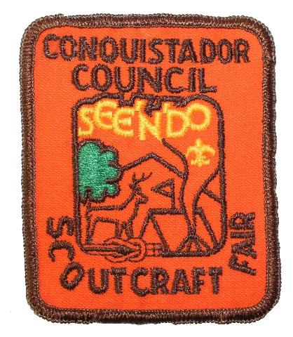 Conquistador Council Scout Craft Fair Boy Scout Uniform Patch